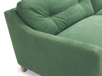 Slim Jim button back sofa