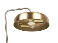 Biblio brass table light shade detail