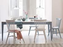 Tucker wooden kitchen table extendable