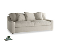 Large Cloud Sofa Bed in Thatch house fabric