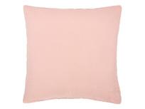Scrunch Cushion in Dusty Pink Linen