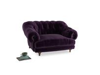 Bagsie Love Seat in Deep Purple Clever Deep Velvet