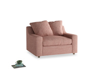 Love Seat Sofa Bed Cloud love seat sofa bed in Blossom Clever Laundered Linen