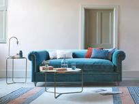 Humblebum elegant roll arm sofa
