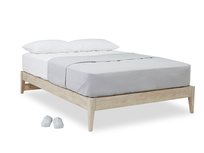 First Base wood bed frame