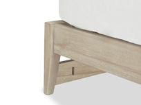 First Base bed base wooden leg detail