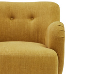 Diggidy button back bedroom chair