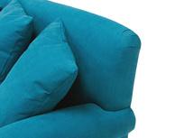 Crumpet sofa - pleat detail