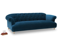 Dixie button back elegant upholstered sofa