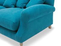 Crumpet sofa - arm detail
