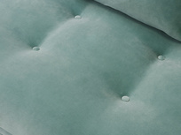 Skinny Minny button base sofa detail