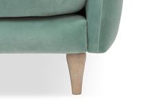 Skinny Minny upholstered sofa front leg detail