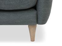 Skinny Minny love seat front leg detail