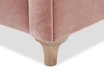 Humblebum love seat corner leg detail