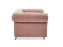 Humblebum elegant love seat side detail