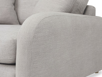 Easy Squeeze love seat upholstered side deail