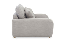 Easy Squeeze love seat comfy side detail