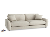 Extra large Easy Squeeze Sofa in Thatch house fabric