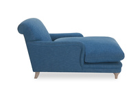 Pudding love seat chaise side detail