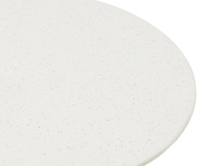Scamp white marble terrazzo top coffee table detail