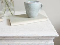 Tilda reclaimed wooden white bedroom chest of drawers