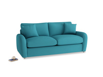 Medium Easy Squeeze Sofa Bed in Dragonfly Clever Linen