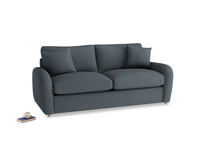Medium Easy Squeeze Sofa Bed in Lava grey clever linen