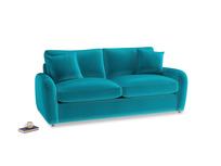 Medium Easy Squeeze Sofa Bed in Pacific Clever Velvet
