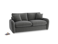 Medium Easy Squeeze Sofa Bed in Shadow Grey wool