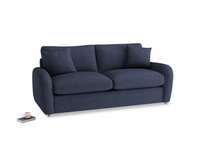 Medium Easy Squeeze Sofa Bed in Seriously Blue Clever Softie