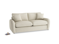 Medium Easy Squeeze Sofa Bed in Shell Clever Laundered Linen