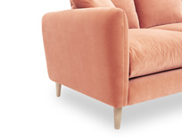 Squishmeister Chaise Sofa side detail