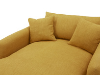 Squishmeister Love Seat Chaise cushion detail
