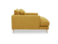Squishmeister comfy Love Seat Chaise side