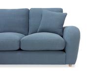 Easy Squeeze Corner Sofa arm detail