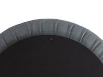 Pot Pie Upholstered Storage Footstool side detail