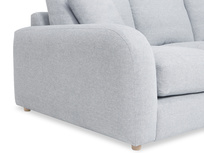 Easy Squeeze Comfy Chaise Sofa Side detail