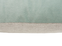 Double Deuce Scatter Cushions linen and velvet