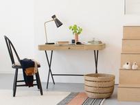 Jotter small oak desk