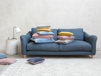 Pipelet velvet contrast cushions range