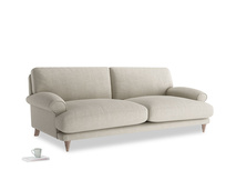 Large Slowcoach Sofa in Thatch house fabric
