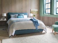 Pillow Talker Padded Cushion Headboard Bed