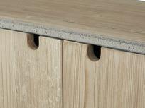 Tall Tim Slimline Shelves Cupboard Door Detail