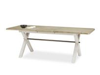 Feast Long Extendable Handmade Farmhouse Kitchen Table