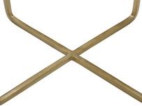 Footlight Dressing Table Stool Cross Leg Detail