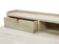 Outta Sight Space saving Desk Open Drawer