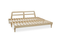 Parlay wooden handmade daybed bed frame pulled out