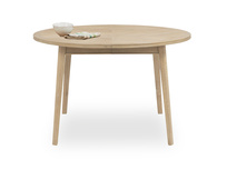 Parquet Pie round wooden dining table