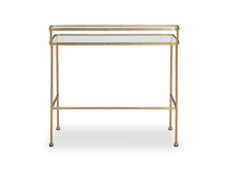 Showtime contemporary metal frame dressing table
