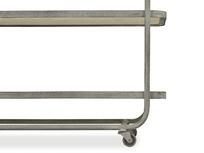 Side Busboy Metal Frame Trolley